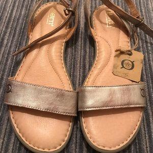 Born Alice Ankle Strap Leather Sandal